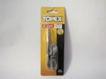 Индикатор автомобильный TOPEX (металл)
