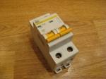 Автоматический выключатель ИЕК - 25А (2П)