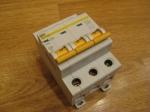 Автоматический выключатель ИЕК - 40А (3П)