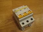 Автоматический выключатель ИЕК - 50А (3П)