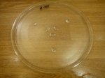 Тарелка на микроволновую плиту (285 мм) - с направляющими