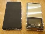 Весы карманные электронные с прозрачной крышкой 500гр (0.1)