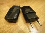 Блок питания USB (HTC) для телефонов (чёрный)