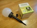 Садовый светильник на солнечной батарее FERON PL250