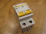 Автоматический выключатель ИЕК - 16А (2П)