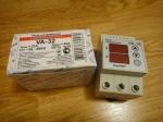 Реле напряжения с контролем тока Digitop VA-32A - DIN
