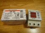 Реле напряжения с контролем тока Digitop VA-63A - DIN