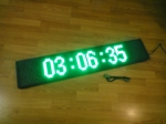 Светодиодное рекламное табло - зелёное