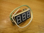 Вольтметр бытовой - без термометра (без корпуса) (АВР)