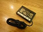 Термометр ST-2 (с выносным датчиком) + часы
