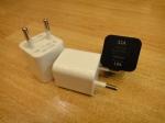 Блок питания ZY-1320 USB для телефонов (два выхода)