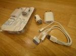 Комплект для зарядки iPhone, iPod