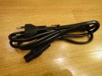Шнур сетевой для бытовых электроприборов - 1.3 м (КНР) - 0.5мм