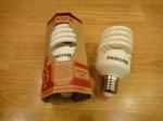Энергосберегающая лампочка РЕКОРД SP-25Вт Е27