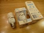 Энергосберегающая лампочка ФОТОН широкая (15Вт) Е27