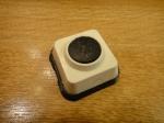 Кнопка для звонка - квадратная + круг (мини)