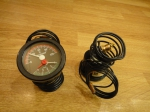 Термометр-манометр PAKKENS - РАК 55/120/4бар (1м)