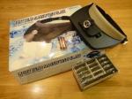 Бинокуляр с подсветкой и сменными линзами MG81001-С
