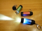 Фонарик - мини (аккумулятор) + USB (с линзой)