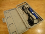 Электровыжигатель с насадками ZD-410А - PROWEST (с футляром)