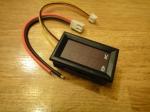 Вольтметр-амперметр 27019 (до 100V) - красный