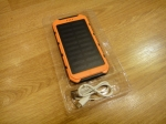 Внешний аккумулятор на солнечной батарее