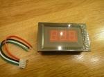 Амперметр PDM-5035 (до 10А) - красный