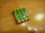 Алкалиновая батарейка DETECH LR03 (AAA) - HQ