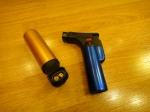 Газовая горелка 39058 (турбо, 2 сопла) - с пьезорозжигом