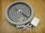 Нагревательный элемент WEBO для стеклокерамических поверхностей 1200 Вт (165 мм) - (4 контакта)